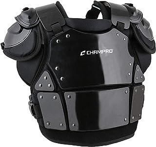 Champro Pro-Plus CP3 - Protector de pecho para árbitro, color negro