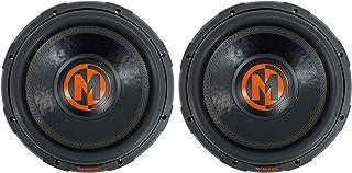 """$439 » (2) Memphis Audio MJP1244 12"""" 1500w MOJO Pro Car Audio Subwoofers DVC 4 ohm Subs"""