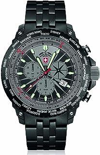 CX Swiss Military (by Montres Charmex SA) - 2476_Black- - Reloj