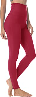 QUEENIEKE Womens Yoga Pants Power Flex High Waisted Sports Leggings Tummy Control Workout Pants with Pocket for Running Fitness Yoga