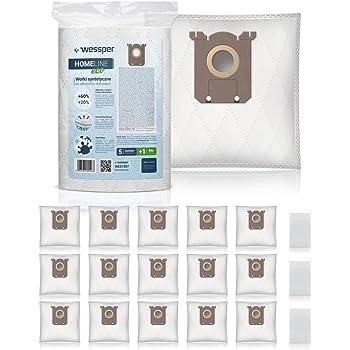 Electrolux E210B Accessoires Aspirateur S-Bag Ultra Long Performance 5 Sacs Synth/étique Sacs dorigine ✧WESSPER/®
