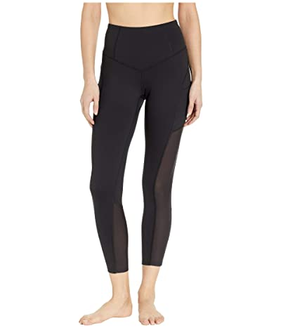 The North Face Perfect Core Novelty High-Rise 7/8 Tights (TNF Black) Women