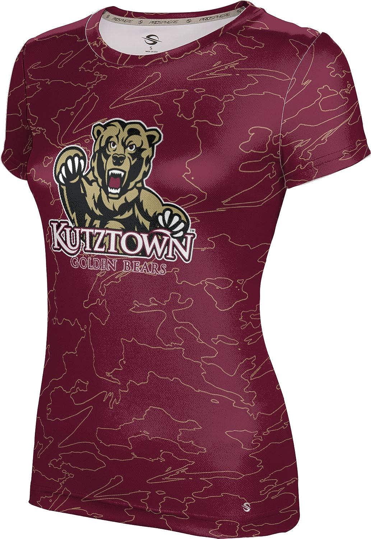 ProSphere Kutztown University Girls' Performance T-Shirt (Topography)