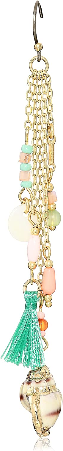 Lucky Brand Summer Time Charm Drop Earrings, Gold