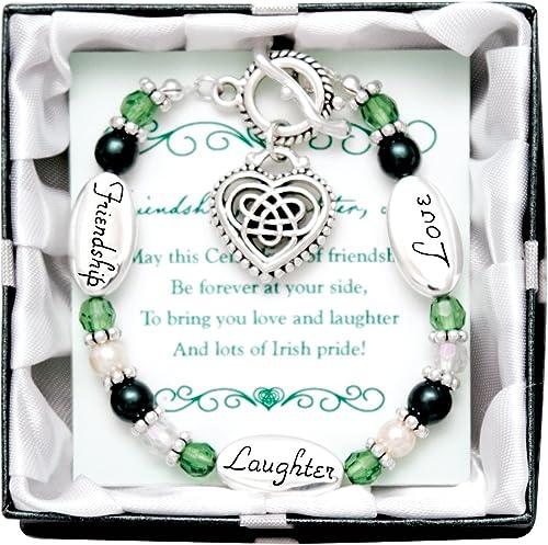 Ausdrucksstark Yours Armband mit Knebelverschluss, Irish
