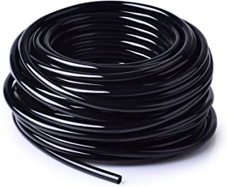MIXC 1/4 inch Blank Distribution Tubing Drip Irrigation Hose, 50ft Roll