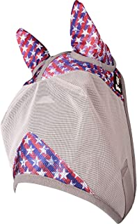 Cashel Company Patterned Pony Crusader Fly Mask with Ears Freedom Weanling