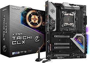 ASRock Motherboard X299 Taichi CLX LGA2066 X299 256GB DDR4 PCI Express SATA ATX Retail / X299 Taichi CLX /