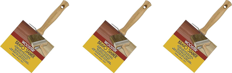 Denver Mall Wooster Brush F5119-5 1 2 Stain Stainer Bristle Denver Mall Bravo Polyester
