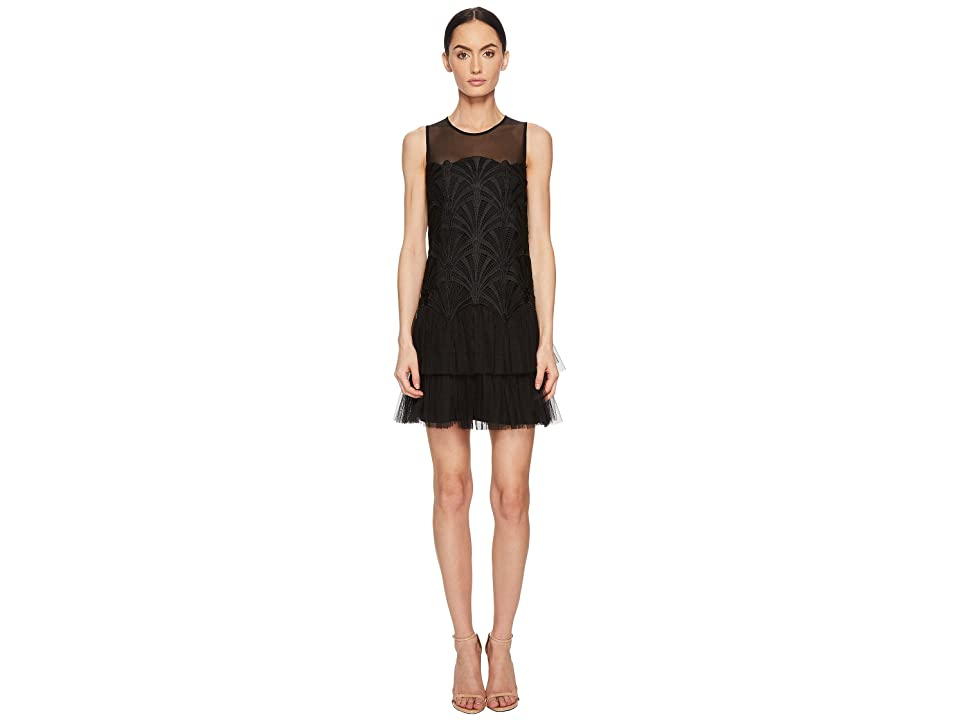 ZAC Zac Posen Sibyl Dress (Black) Women