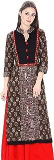 Natty India Women's A-line Kurti