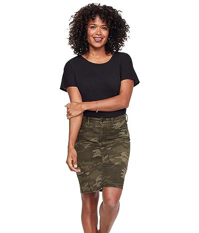 NYDJ Denim Skirt in Camo (Camo) Women