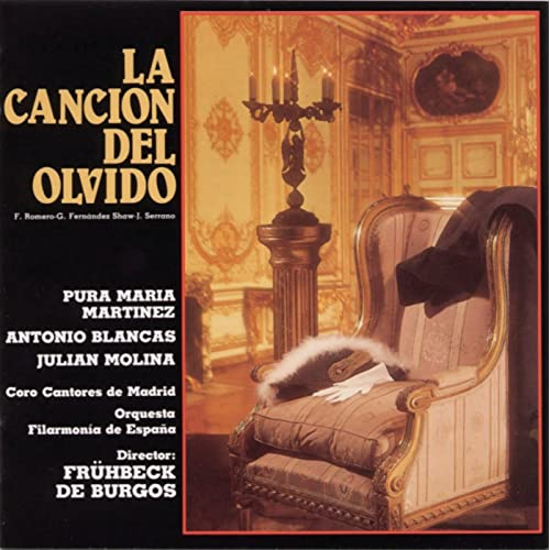 La Canción del Olvido de Rafael Fruhbeck de Burgos en Amazon ...