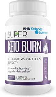 Super Keto Burn Ketogenic Weight Loss Support Appetite & Metabolism Blend - Lose More Weight and Burn More Fat - Promote Fat Burning - Support Metabolism - Improve Energy - Burn More Calories