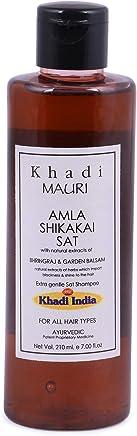 Khadi Mauri Herbal Amla & Shikakai Shampoo - 210 ml