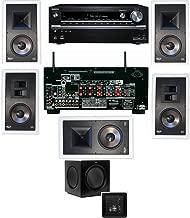 Klipsch KL-7800-THX 5.1 In-Wall-SW-310-Onkyo TX-NR838 7.2 Channel- White