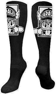 Yuanmeiju, calcetines de punto Arale Unisex Thigh High Socks Knee High Warm Stocking Boot Long Socks