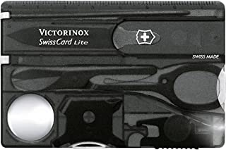 Victorinox Swiss Card Lite, Black Translucent