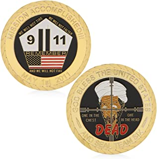 W-Fight God Bless The United States 911 Attack Commemorative Coin Collectible Challenge,Best Choice for Your Friends AS A Xmas, New Year,Birthday Gift