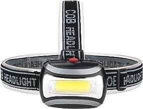 Koplamp Koplamp Camping Zaklamp Koplamp Licht Lamp Batterij LED Koplamp voor de Jacht Grijs