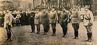 World War I Allied Forces Nfrom Left General Henri Philippe Petain French Commander In Chief Marshal Joseph Joffre Of France Marshal Ferdinand Foch Of France Allied Supreme Commander Field Marshal Sir