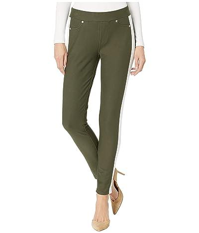 MICHAEL Michael Kors Stripe Pull-On Leggings (Ivy) Women