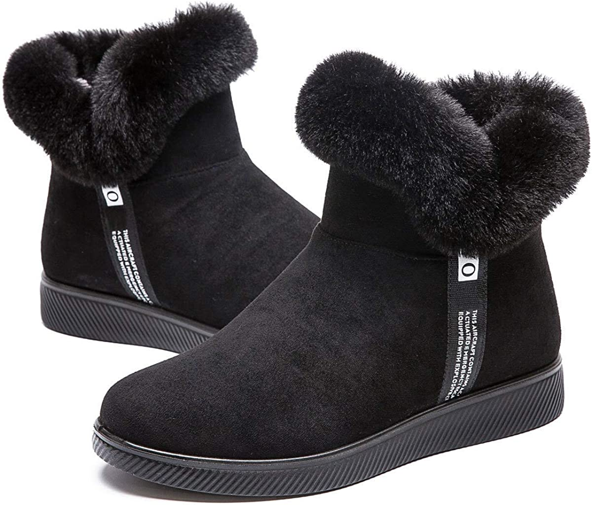 Orangetime Cozy Fur Lined Price reduction Snow Boots Max 44% OFF Warm Ant Winter Women Shoes