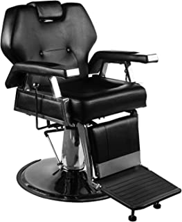 DOIT Salon Barber Chair Beauty Spa Shampoo Hair Styling Chair Equipment,Beauty Spa Shampoo Hair Styling Reclining Hydraulic Chair Black