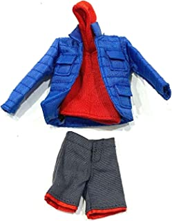 "FIGLot Video Game Outfit for 6"" Marvel Legends Miles Morales Spider-Man (Figure NOT Included)"