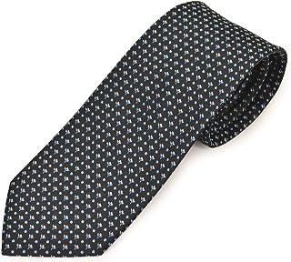 [ヒューゴボス] 【イタリア製 シルク100%】 高級 ネクタイ メンズ [並行輸入品]