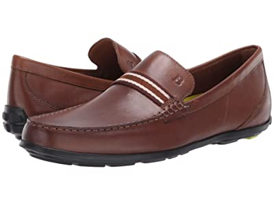 Bostonian Grafton Driver (Dark Tan Leather) Men