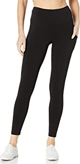 Women's Cotton Stretch Basic 7/8 Legging with Side Pocket