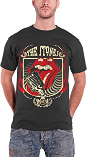 The Rolling Stones ローリング・ストーンズ Vintage Distressed Forty 40 Licks 公式 メンズ Tシャツ
