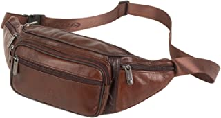 leather fanny pack belt