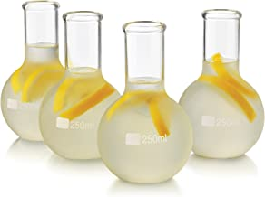 Libbey 4 Piece Ball Flask Set, Clear
