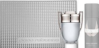 Paco Rabanne Invictus zestaw upominkowy dla niego (woda toaletowa 100 ml + dezodorant 150 ml)