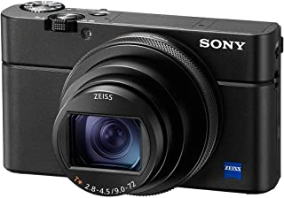 Sony RX100 VI Advanced Compact Premium Camera with 1.0-Type Sensor, 24-200 mm F2.8-4.5 Zeiss Lens, Superior AF Performance, 4K Movie (DSC-RX100M6)