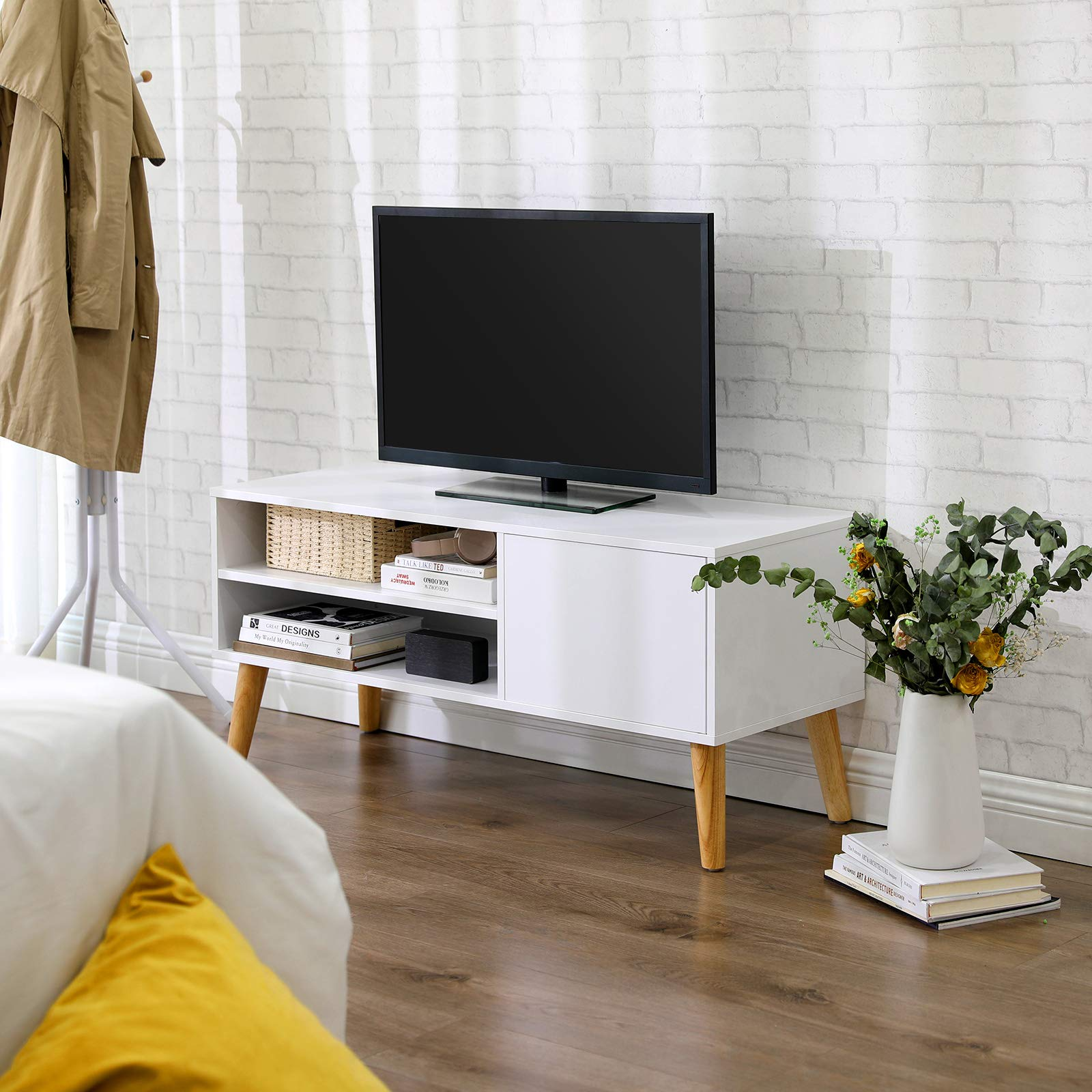 VASAGLE Armario Rústico para TV, Mesa para TV, Aparador bajo ...