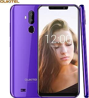 """OUKITEL C12 Unlocked Smartphone Android 8.1 Unlocked Cell Phones,6.18"""" 19:9 Full-Screen Display,8MP+2MP Cameras, 3G Android Phones Unlocked, Dual SIM Smartphone 2GB+16GB Fingerprint & Face Unlock"""