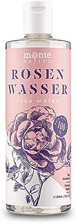 Rosenwasser MonteNativo 1x500ml – 100% natürlich, echtes Gesichtswasser, Rein und..