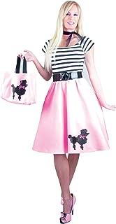 Charades Women's Felt Poodle Dress With Sequin Applique