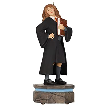 Hallmark Keepsake Christmas Ornament 2020, Harry Potter Collection Hermione Granger Storytellers With Light and Sound