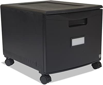 Amazon.com: Caoba mancha Oficina Storage Unit w abierto ...