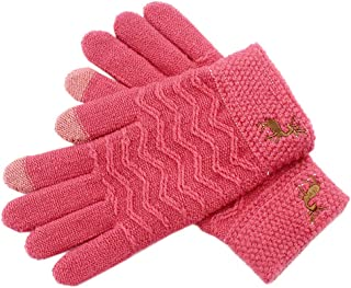 ACVIP Unisex Little Children's Reindeer Knit Cold Weather Outdoor Cycling Casual Gloves