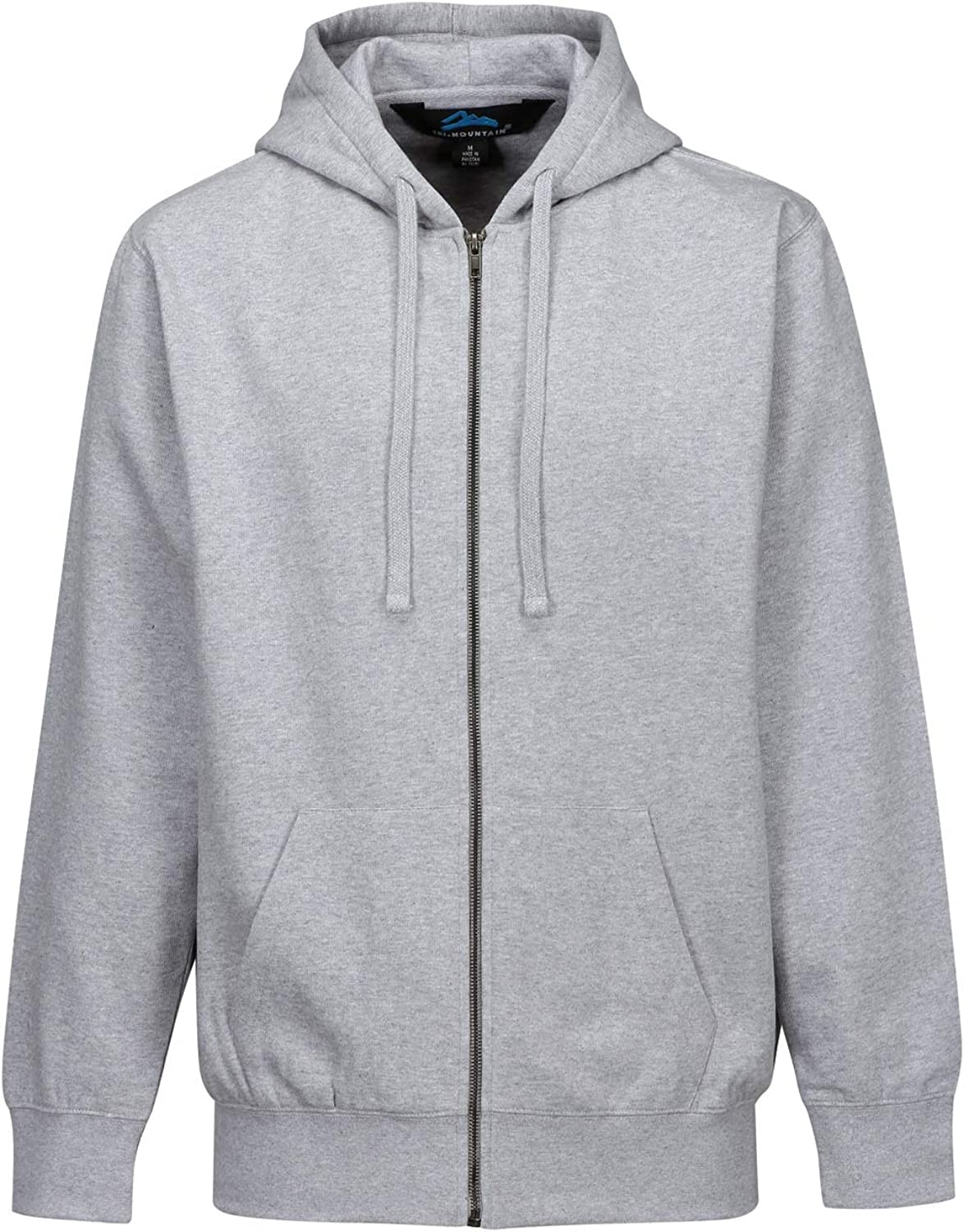 Big and Tall Thermal Lined Hoodie up to Size 7X Navy and Gray