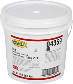 Rich's JW Allen Pre-Whipped, Buttrcreme Icing ZTF, 240 Ounce