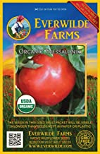 Everwilde Farms - 25 organic Thessaloniki Heirloom Tomato Seeds - Gold Vault Packet