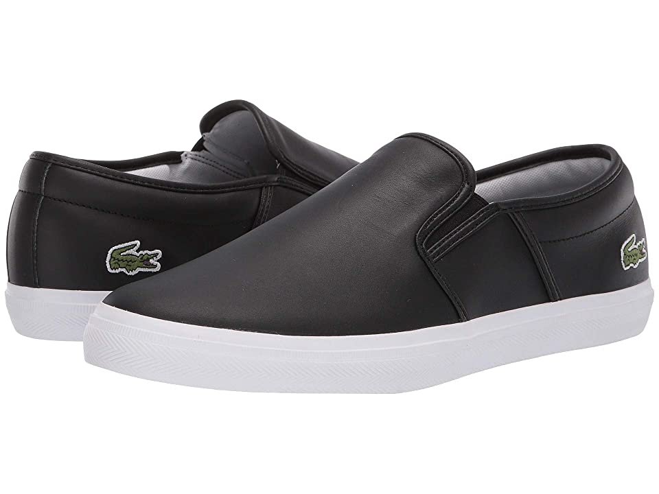 06c8fe81443e2 Lacoste Tatalya 119 1 P CMA (Black/White) Men's Shoes
