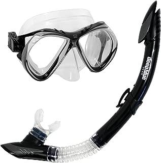 Deep Blue Gear Del Sol 2 潜水面罩和半干潜水管套装