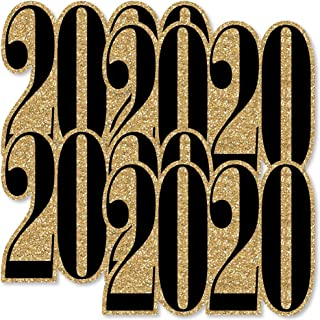 Gold New Year's Eve - 2020 Decorations DIY Party Essentials - Set of 20